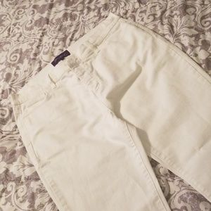 White NOT YOUR DAUGHTERS JEANS